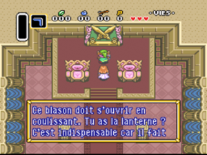 The Legend of Zelda : A Link to the Past | Inciter à la progression