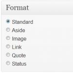 Wordpress - Format