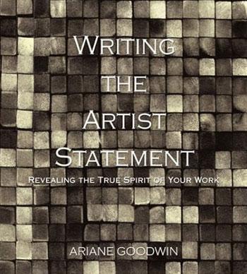 Un livre qui explique aux artistes comment rédiger une bonne démarche artistique [source].