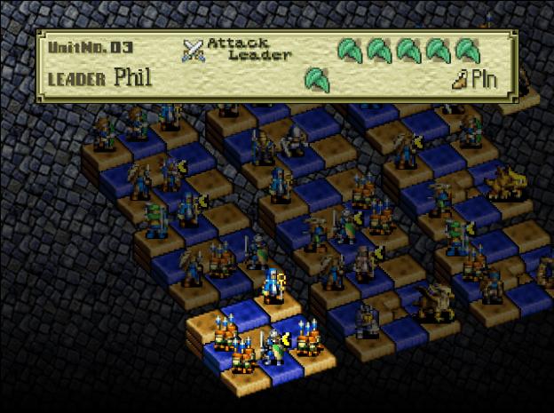 Ogre Battle 64: Person of Lordly Caliber et l'exploration du système de jeu