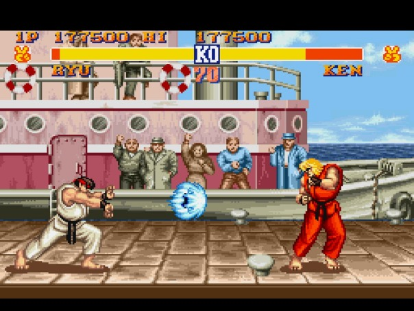 Street Fighter II: The World Warriors (Capcom, 1991) (source).
