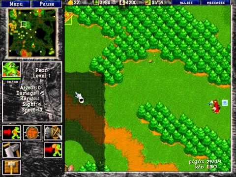 Les observateurs dans Warcraft II
