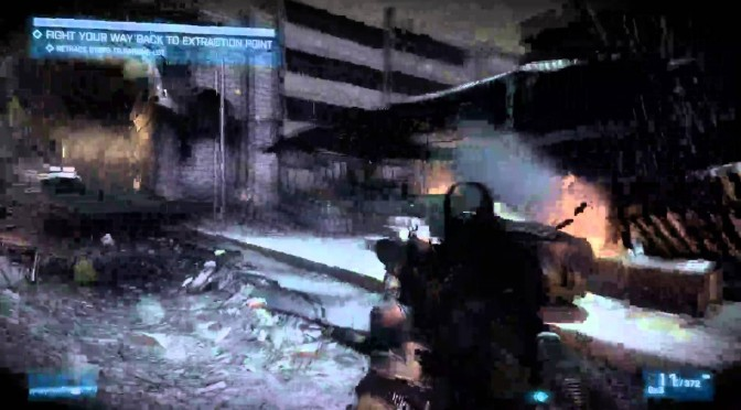 Battlefield 3, l'auto-sauvegarde et la distanciation