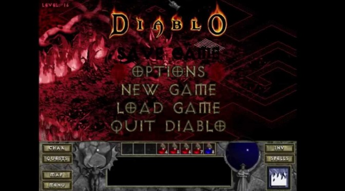 Diablo, playthrough avec la Rogue