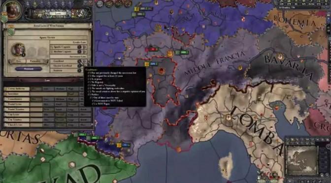 Crusader Kings II: Charlemagne – dynastie Karling