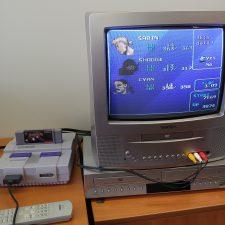Un peu de Final Fantasy VI cet après-midi… #ff6 #retrogaming #snes