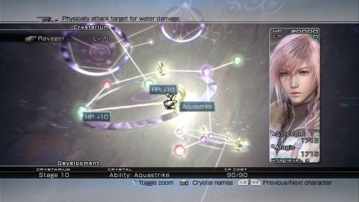 Final Fantasy XIII - Crystarium