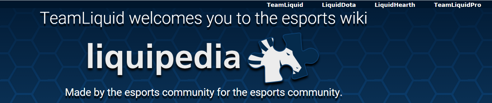 Liquipedia. TeamLiquid.