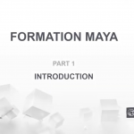 Introduction au logiciel 3D Maya, par Erwan Davisseau
